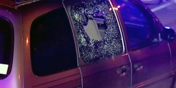A 28-year-old Forest Park man was found fatally shot along the inbound lanes of the Eisenhower Expressway this morning.