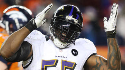 Timing was good for Terrell Suggs' best game of season