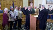 Photos: Elected officials sworn in