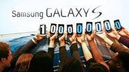 Samsung announced Monday that it has sold more than 100 million of its Galaxy S smartphones since launching the line in 2010.