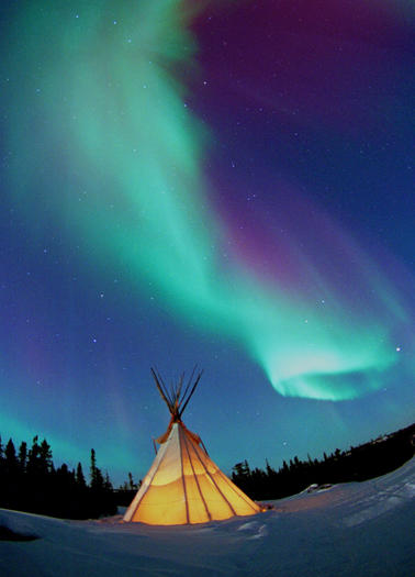 Travel to Canada -- Northern Lights