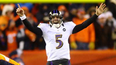 'He's a top-five elite quarterback,' Joe Flacco's agent says