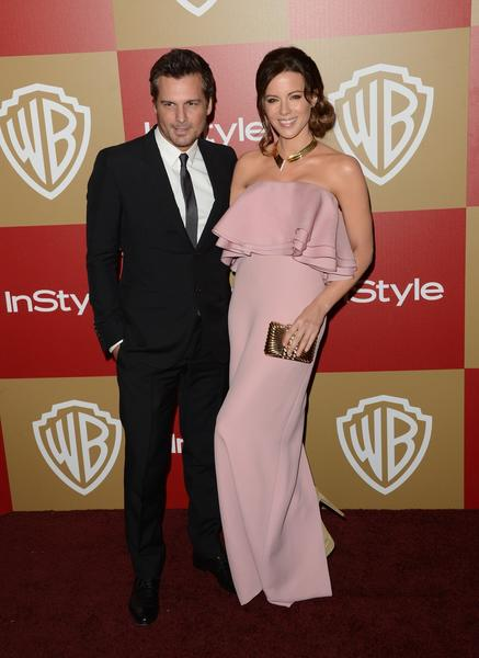 Filmmaker Len Wiseman, left, and his wife, actress Kate Beckinsale.