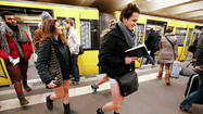 No Pants Subway Ride - Berlin