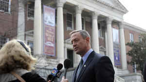 O'Malley takes a stand on guns