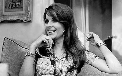 "Natalie Wood in 1969 after finishing ""Bob and Carol and Ted and Alice."""