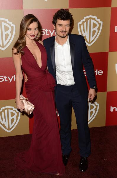 Victoria's Secret model Miranda Kerr and her husband, actor Orlando Bloom.