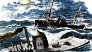 The USS Monitor sank off Cape Hatteras, N.C., in a Dec. 31, 1862 storm.