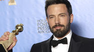 "The Golden Globes on Sunday night were full of surprises: Jodie Foster's speech. Former President Clinton introducing best dramatic picture nominee ""Lincoln."" And ""Argo"" taking not only that prize but also generating a win for director Ben Affleck, who wasn't even nominated for an Oscar in that category."