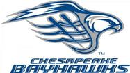 The defending Major League Lacrosse champion Chesapeake Bayhawks will travel to the Rochester Rattlers on April 27 to open their 14-game schedule, the team announced today.