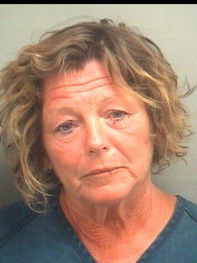 Mary P. Maloney, 53, of Lake Worth, is charged with DUI, hit-and-run, and attempting to bribe a police officer after she was arrested on Jan. 13, 2013.