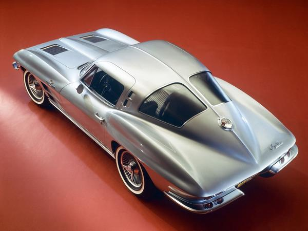 The second-generation Corvette was introduced in 1963 and was nicknamed Sting Ray.
