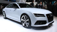DETROIT -- Audi used its Monday news conference at the 2013 Detroit Auto Show to reveal to the world its most powerful car. And it has four doors.