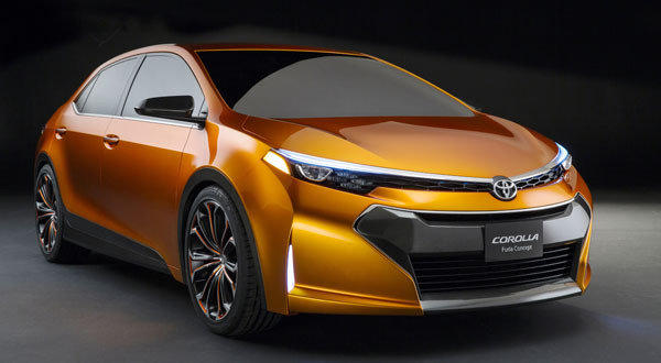The Toyota Corolla Furia concept was unveiled Monday at the 2013 North American International Auto Show in Detroit.