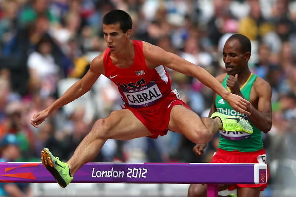 Glastonbury native Donald Cabral competed in the  Men's 3000m Steeplechase in the 2012 Summer Olympics in London.