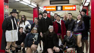 2013 No Pants Subway Ride