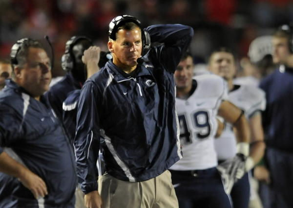 Former UConn Football Head Coach Randy Edsall lived in Glastonbury while coaching in Connecticut. Edsall coached UConn from 1999-2010 and had a record of 74-70 -- including five Bowl appearances. Edsall now coaches the University of Maryland.