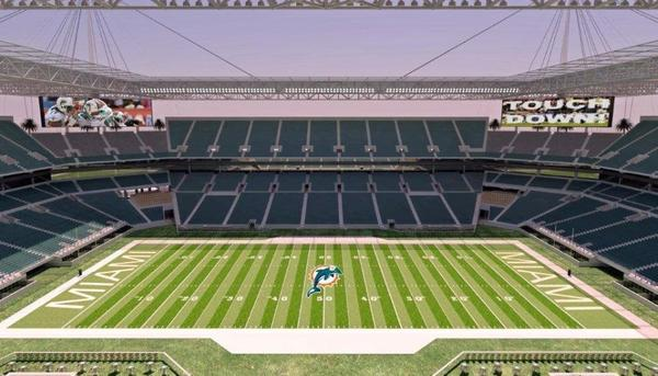 Sun Life Stadium modernization rendering