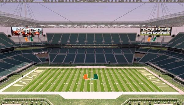 Sun Life Stadium modernization renderings