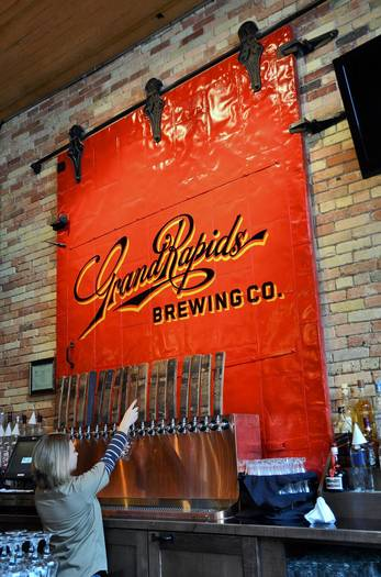The new Grand Rapdis Brewing Co. in Michigan.