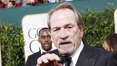 Golden Globes 2013: Tommy Lee Jones' scowl goes viral