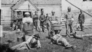 Contraband slaves seek freedom at Fort Monroe