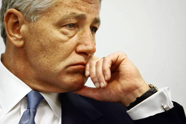 Chuck Hagel, President Obama's choice for Defense secretary.