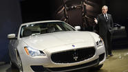 DETROIT -- Maserati may be the only Italian automaker at the 2013 Detroit Auto Show, but the company made up for the void with an all-new sedan heavy on machismo and power.