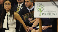 "<span style=""font-size: small;"">NEWTOWN, Conn. (AP) — Parents of children slain in the Connecticut school massacre held photos of their sons and daughters, cried, hugged and spoke in quavering voices as they called for a national dialogue to help prevent similar tragedies.</span>"