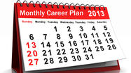 Job-hunting calendar: Your year to get in gear