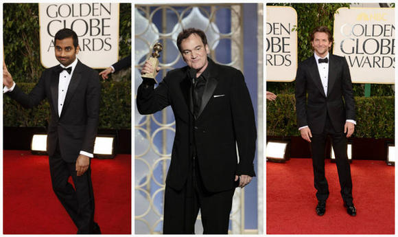 Menswear Hits and Misses  at the 2013 Golden Globes