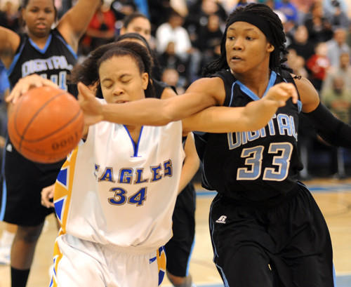 Digital Harbor's A'Lexus Harrison, an All-Metro forward-guard, committed to Maryland before her sophomore season.