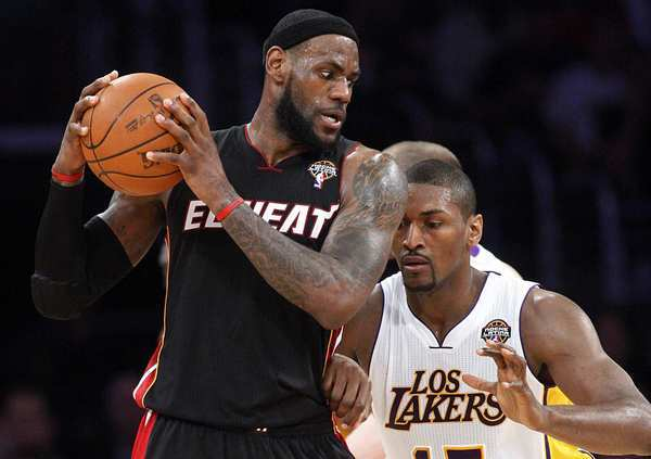 LeBron James, Metta World Peace