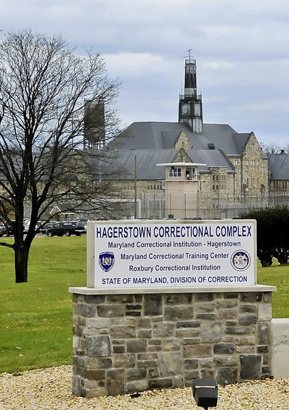 The Hagerstown Correctional Complex is located on Roxbury Road outside of Hagerstown.