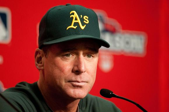 Oakland Athletics manager Bob Melvin