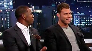 Watch Blake Griffin and Chris Paul crack jokes with Jimmy Kimmel