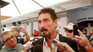 You knew it was only a matter of time before the bizarre story of John McAfee's flight from police officials in Belize was turned into a Hollywood film.