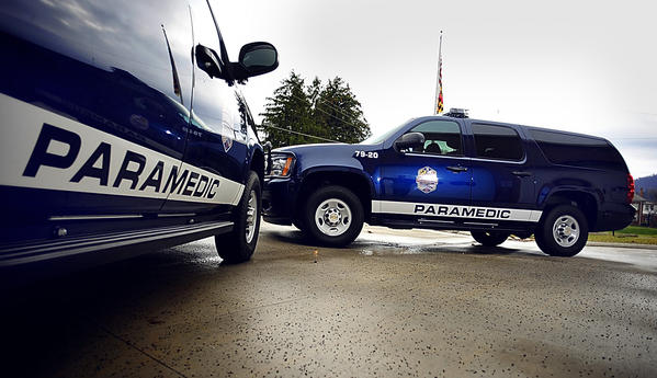 Smithsburg Emergency Medical Services recently acquired two new Chevrolet Suburban chase vehicles. Custom-made containers in the rear of the vehicles maintain temperature control of medications, a therapeutic hypothermia cooler, and equipment for advanced life support.