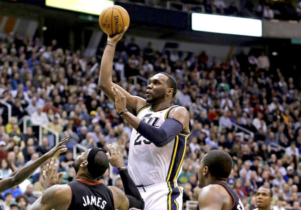 Al Jefferson is a strong scorer, rebounder and shot blocker for the Jazz