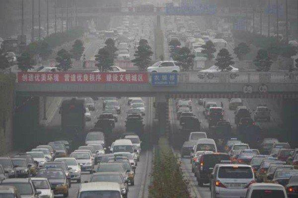 Traffic congestion in Beijing
