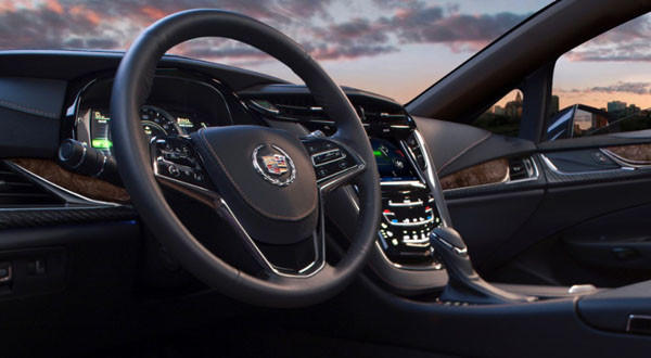 On Tuesday, Cadillac launched the ELR, a sleek luxury coupe.