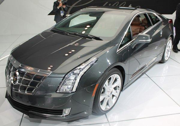Cadillac unveiled the all-new ELR plug-in hybrid on Tuesday at the Detroit Auto Show. The car is loosely based on the Chevy Volt.