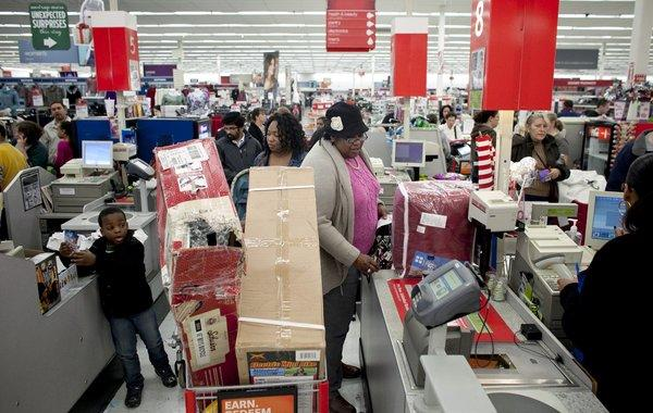 The government said retail sales increased in December