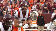 PHOTOS: Logan Thomas at Virginia Tech and Brookville High School
