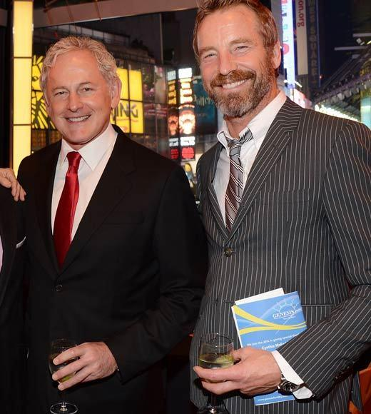 "Victor Garber confirms that he is gay and lives with partner Rainer Andreesen in New York City. <BR><BR>""My companion Rainer Andreesen and I have been together almost 13 years in Greenwich Village. We both love New York."""