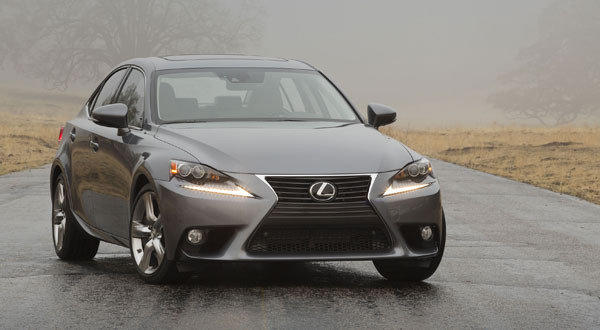 The 2014 Lexus IS sedan