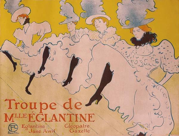 La Troupe de Mademoiselle Eglantine, color lithograph, 1896, 617 x 804 mm, © Herakleidon Museum, Athens Greece