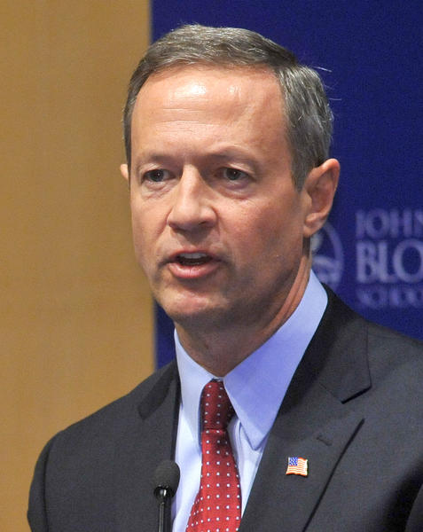 Maryland Gov. Martin O'Malley speaks at the start of a two-day gun control summit at the Johns Hopkins University Bloomberg School of Public Health.