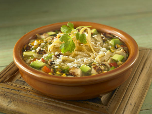 Cindy Barbieri Anschutz has her own twist on traditional chicken noodle soup with her recipe for Chicken Tortilla Soup.