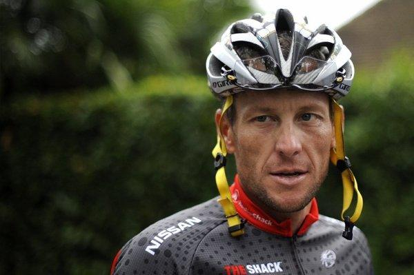 Lance Armstrong during the 2010 Tour de France.